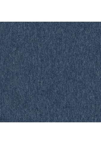 Teppichfliese »Neapel«, quadratisch, 3 mm Höhe, dunkelblau, selbstliegend, leicht... kaufen