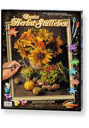 Schipper Malen nach Zahlen »Meisterklasse Premium Buntes Herbst Stillleben«, Made in Germany kaufen