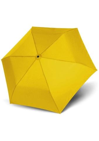 doppler® Taschenregenschirm »Zero Magic, uni shiny yellow« kaufen