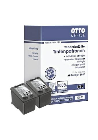 Otto Office Doppelpack Tintenpatronen ersetzt HP Nr. 21 »C9351AE« kaufen