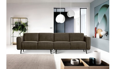 Places of Style 4-Sitzer »Carolina«, mit Holzfüßen kaufen