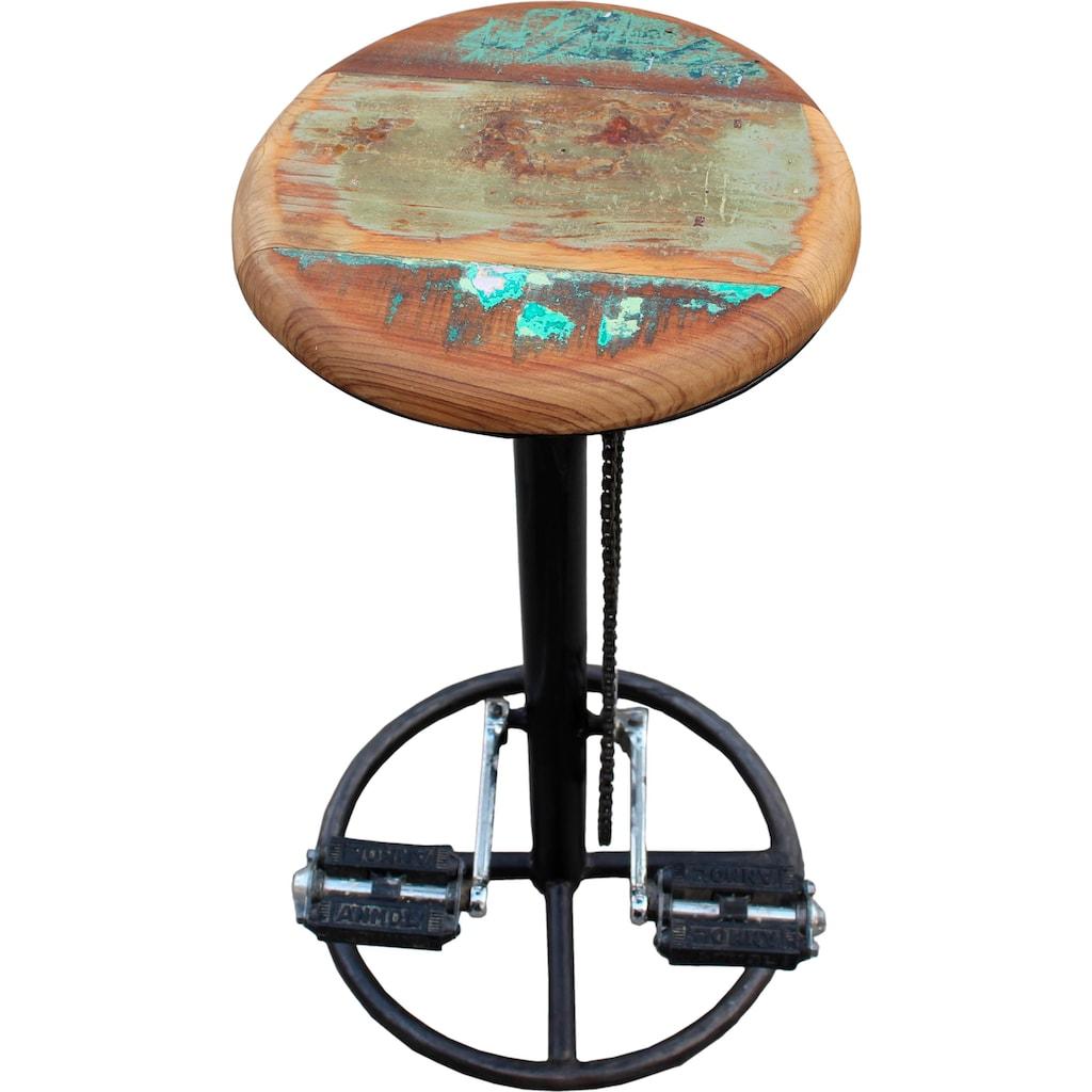SIT Barhocker »This&That«, mit Fahrradkette und Pedalen