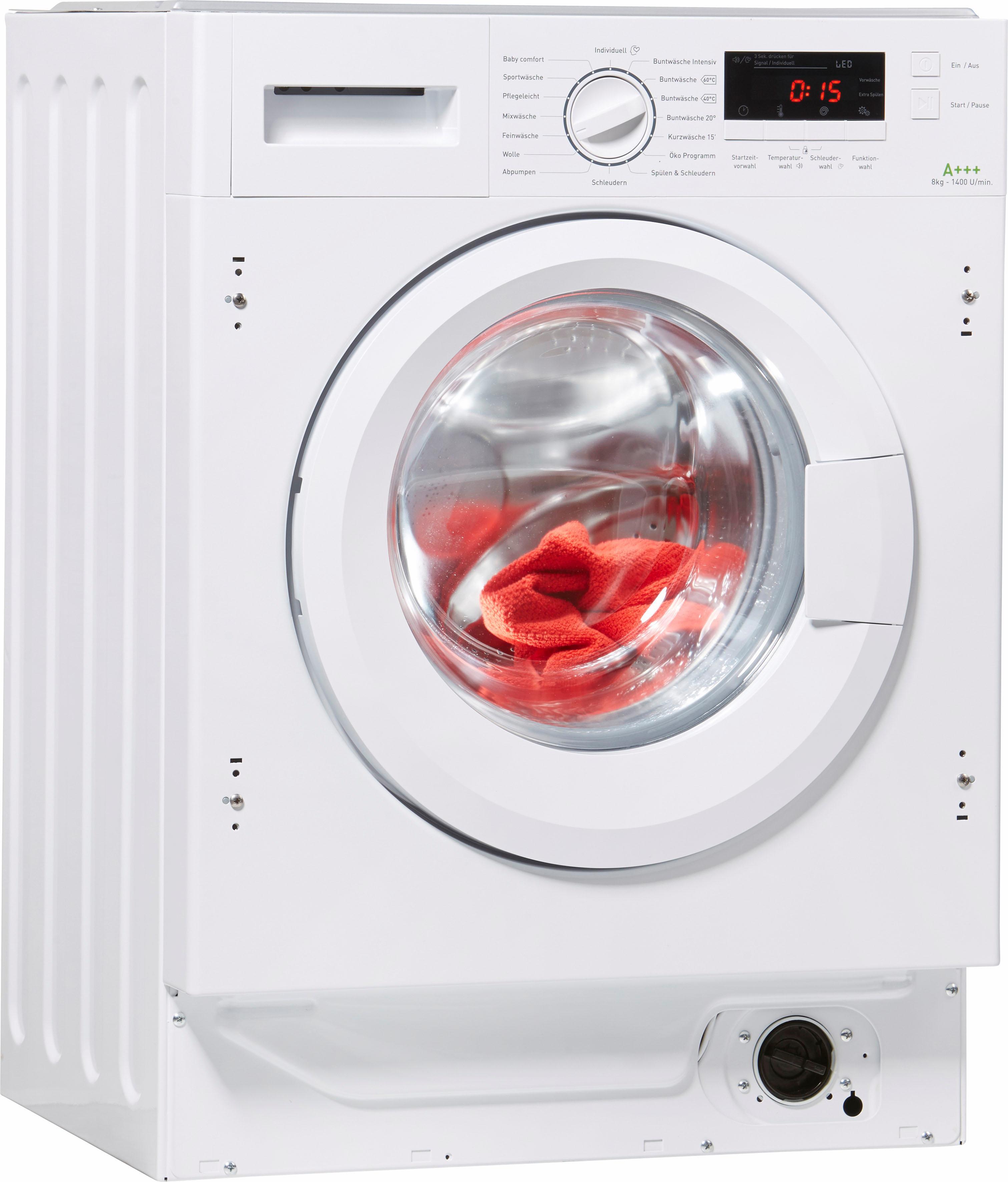 Amica Einbauwaschmaschine EWA 34657 W | Bad > Waschmaschinen und Trockner > Einbauwaschmaschinen | Weiß | Amica