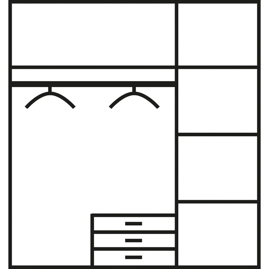 Jugendzimmer-Set, (Set, 5 tlg.)