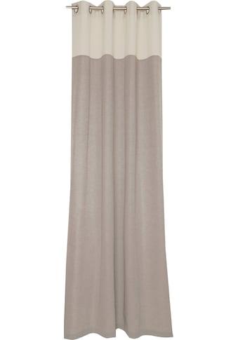 Vorhang, »Mono«, SCHÖNER WOHNEN - Kollektion, Ösen 1 Stück kaufen