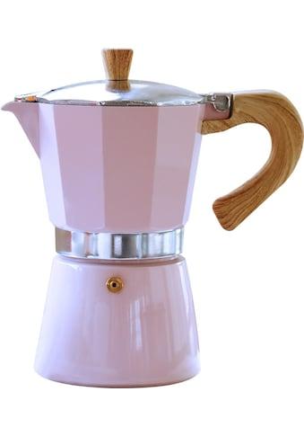gnali & zani Espressokocher »Venezia«, Induktion, rosa kaufen