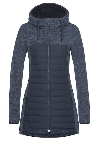 Alife & Kickin Outdoorjacke »CharliAK«, warme Longjacke im Fleece-Downlook-Style,... kaufen