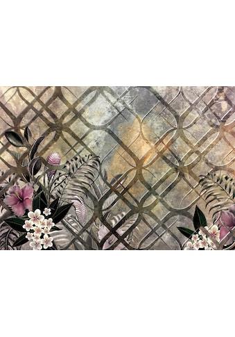 Consalnet Vliestapete »Goldenes Muster/Blumen«, floral kaufen
