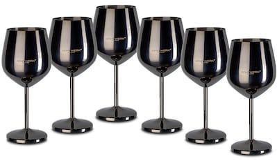ECHTWERK Weinglas, (Set, 6 tlg.), PVD Beschichtung, 6-teilig kaufen