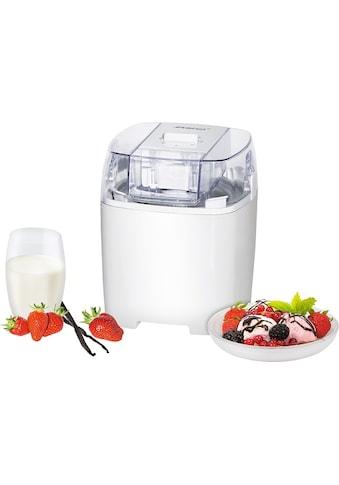 Steba Eismaschine »IC 20«, 1,5 l, 9,5 W, für bis zu 20 Kugeln Eis kaufen