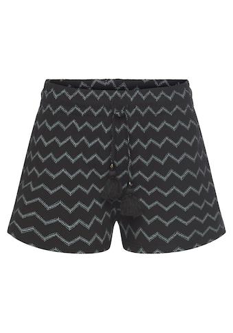 Ragwear Shorts »ANIKO CHEVRON«, im Zig Zag All Over-Design kaufen