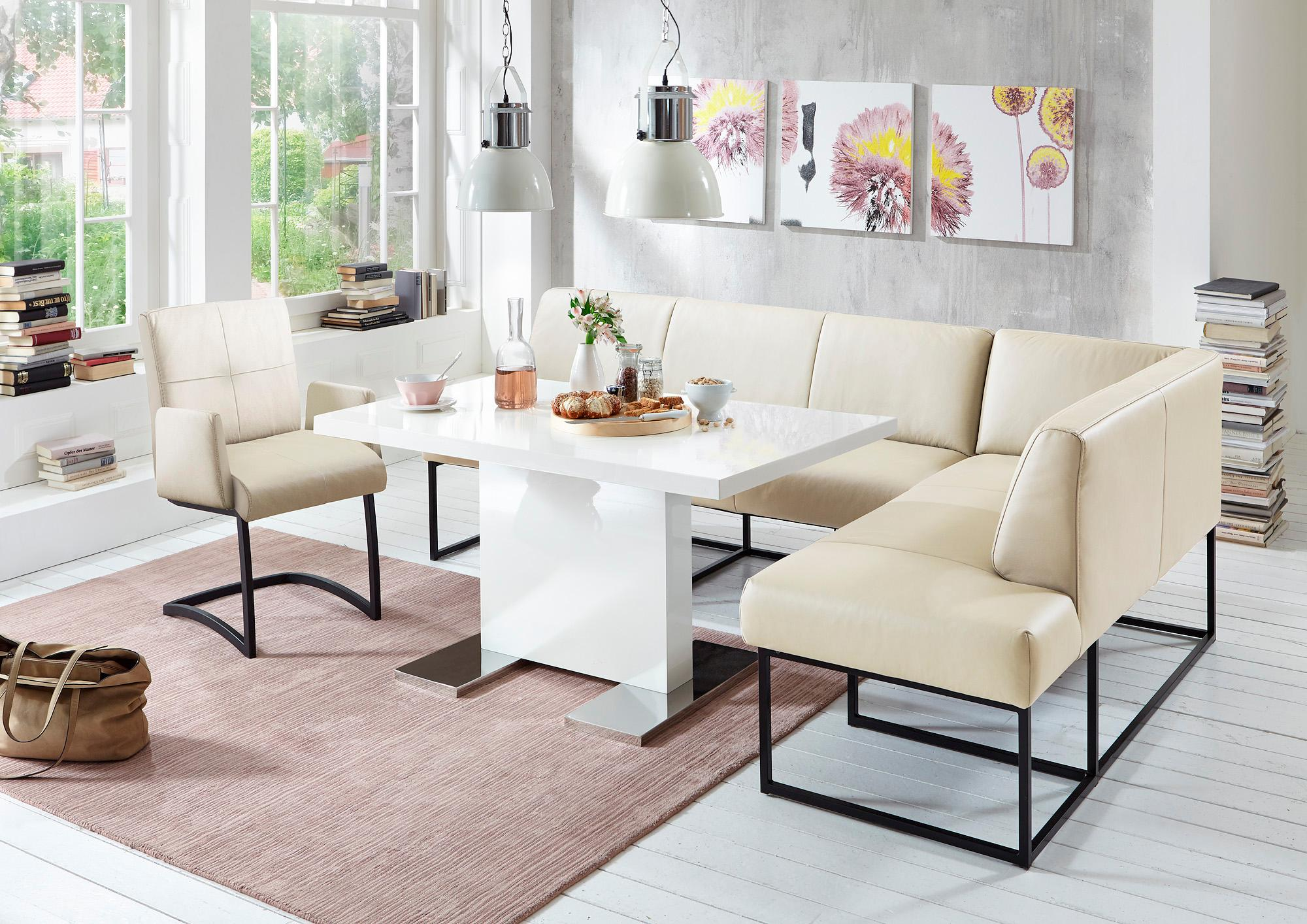 exxpo - sofa fashion Eckbank | Küche und Esszimmer > Sitzbänke > Eckbänke | Braun | EXXPO - SOFA FASHION