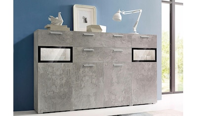 TRENDMANUFAKTUR Highboard »Sarahmix«, Breite 182 cm kaufen
