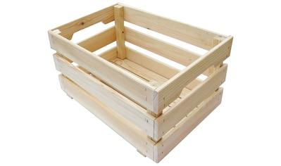 ADOB Aufbewahrungsbox »Holzkiste«, 46 x 31 x 25 cm kaufen