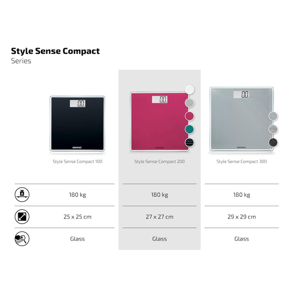 Soehnle Personenwaage »Style Sense Compact 200«