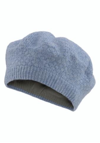 Seeberger Baskenmütze, Barett mit feinen Glitzerfäden kaufen
