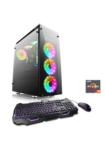 CSL Gaming PC | Ryzen 9 3900X | RTX 2080Ti | 32 GB DDR4 | 500 GB SSD »HydroX T8055 Wasserkühlung« kaufen