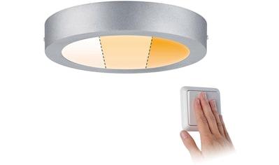 Paulmann LED Deckenleuchte »Carpo LED Panel 225mm rund 13W Chrom matt«,... kaufen