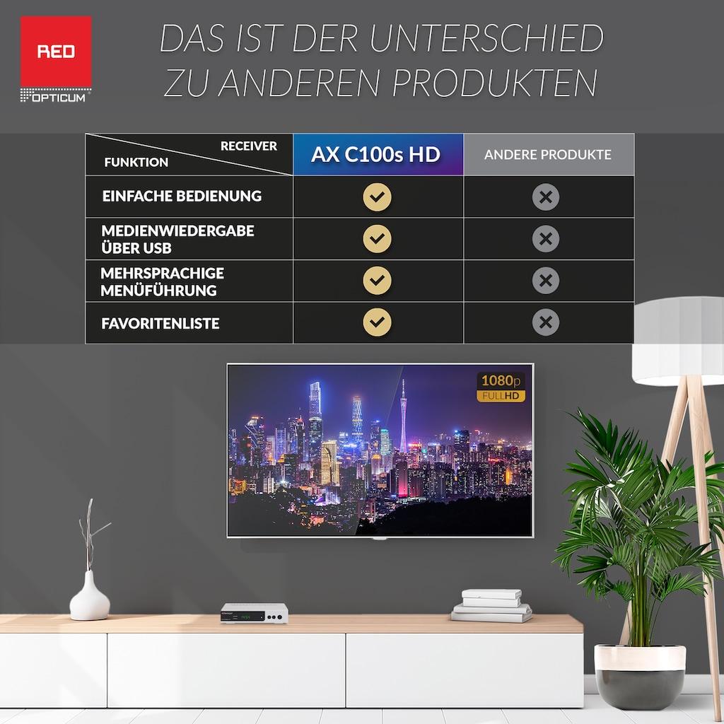 Opticum Red Kabel-Receiver »AX C100s HD«