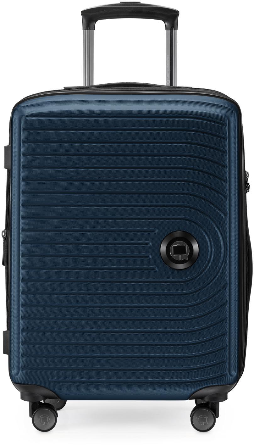 Hauptstadtkoffer Hartschalen-Trolley Mitte, dunkelblau, 55 cm, 4 Rollen | Taschen > Koffer & Trolleys > Trolleys | Blau | hauptstadtkoffer