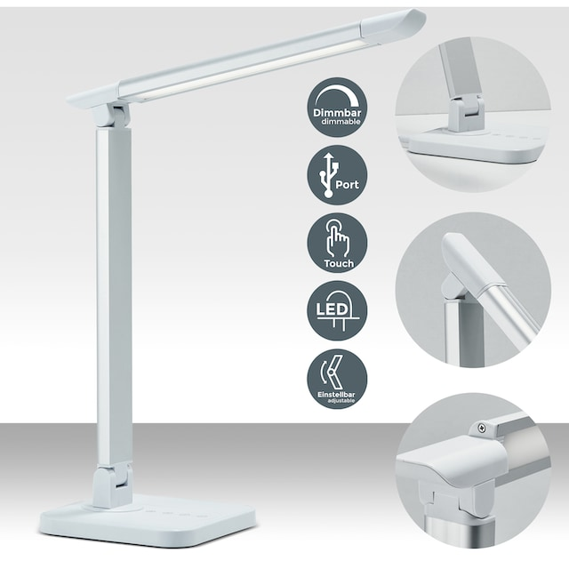 B.K.Licht,LED Schreibtischlampe