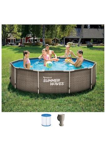 SummerWaves Rundpool »Active Frame«, ØxH: 305x76 cm kaufen