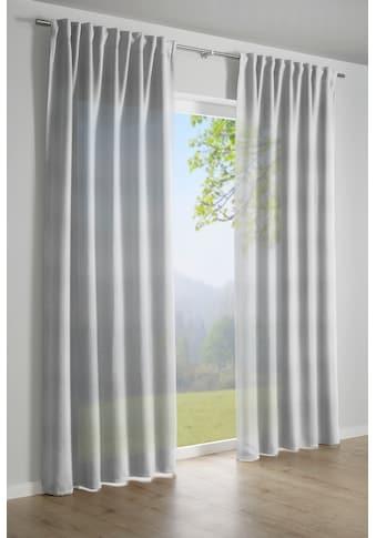 GARDINIA Vorhang »Schal mit verdeckter Schlaufe«, HxB: 245x140 kaufen