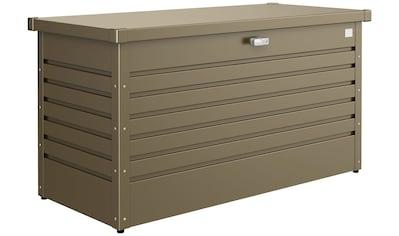 Biohort Aufbewahrungsbox »Freizeitbox 130«, B/T/H: 134/62/71 cm, bronzefarben metallic kaufen