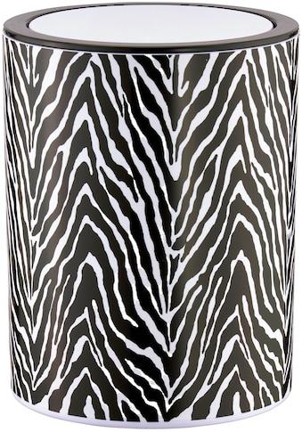 SEEMANNGARN Kosmetikeimer »Zebra«, 1,5 Liter kaufen