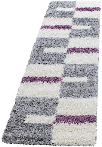 Hochflor - Teppich, »Gala Shaggy 2505«, Ayyildiz, rechteckig, Höhe 30 mm, maschinell gewebt kaufen