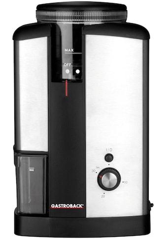 Gastroback Kaffeemühle Advanced 42602, Kegelmahlwerk kaufen