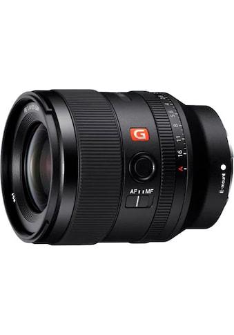 Sony Objektiv »SEL35F14GM.SYX« kaufen