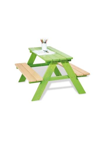 Pinolino® Kindersitzgruppe »Nicki für 4, grün«, Made in Europe kaufen