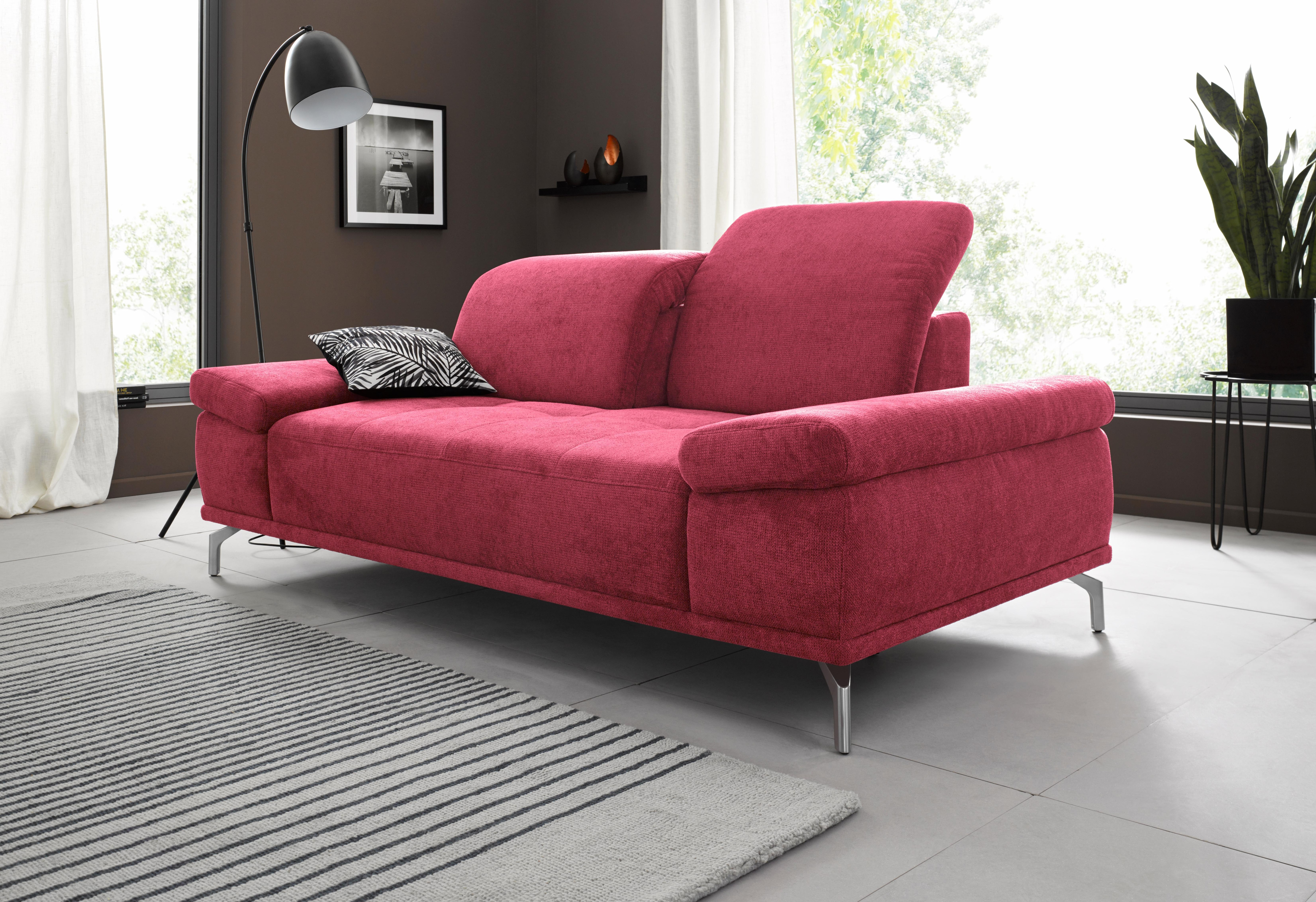 rot-mikrofaser 2 & 3 Sitzer Sofas online kaufen | Möbel-Suchmaschine ...