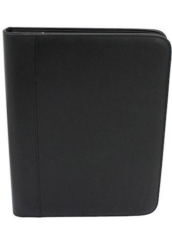 Friedrich23 Schreibmappe »DIN A4, 36 cm, schwarz«, mit Taschenrechner kaufen