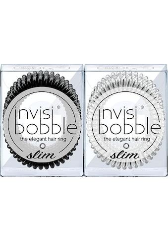 invisibobble Spiral-Haargummi »SLIM«, True Black & Chrome Sweet Chrome kaufen