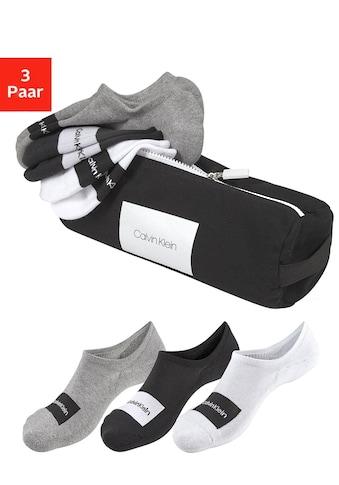 Calvin Klein Sneakersocken (Beutel, 3 Paar) kaufen