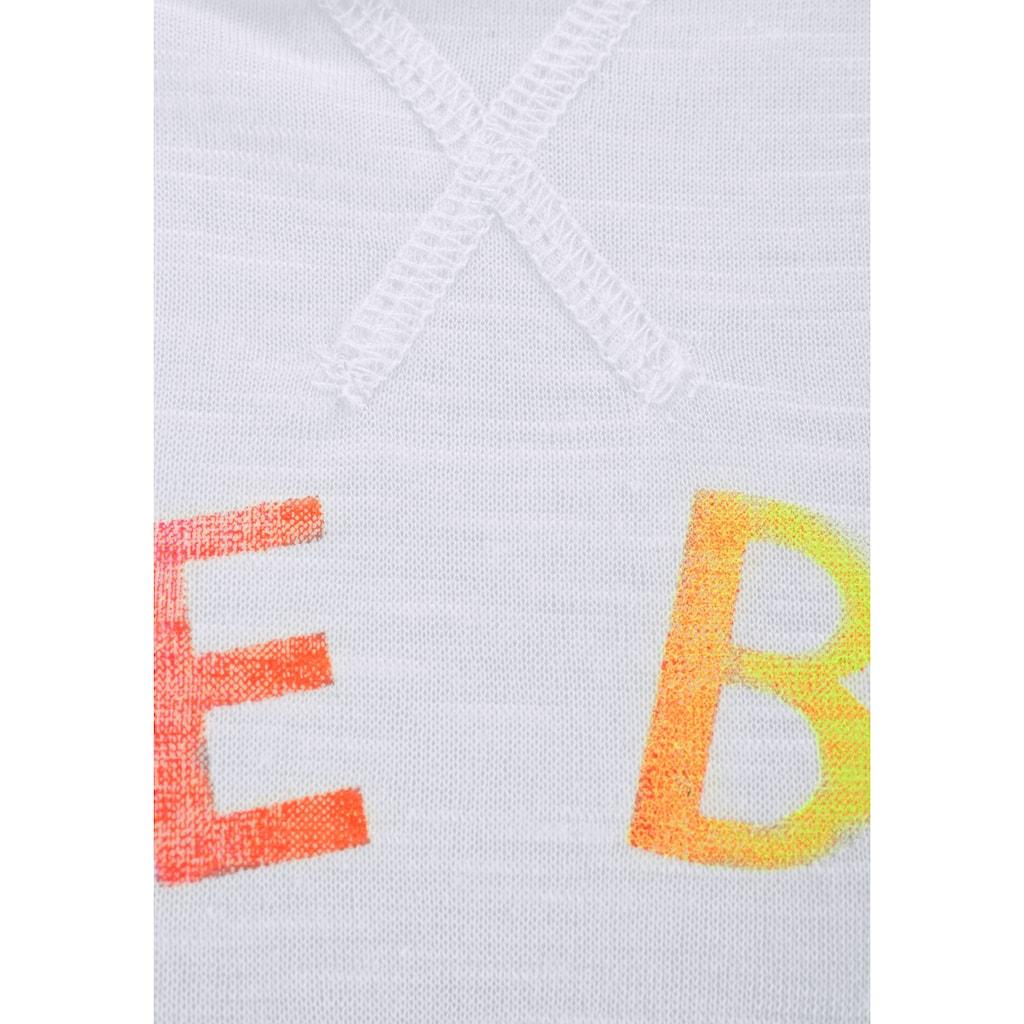 Venice Beach Longshirt, mit Frontprint