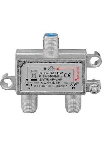 Goobay Adapter »DC-Durchgang«, SAT-TV-Einschleuseweiche kaufen