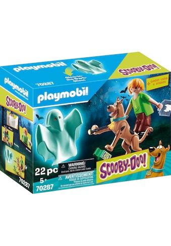Playmobil® Konstruktions-Spielset »SCOOBY-DOO! Scooby & Shaggy mit Geist (70287),... kaufen