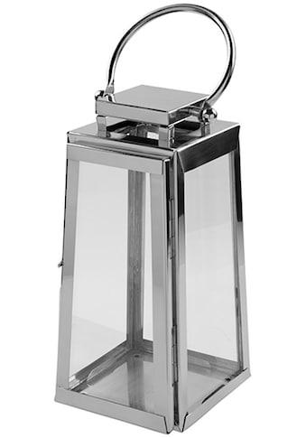 Fink Laterne »MONACO«, aus Edelstahl und Glas kaufen
