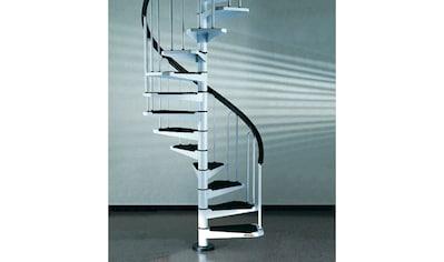 STARWOOD Spindeltreppe »AF26«, B: 120 cm, 12 Stufen, weiß kaufen