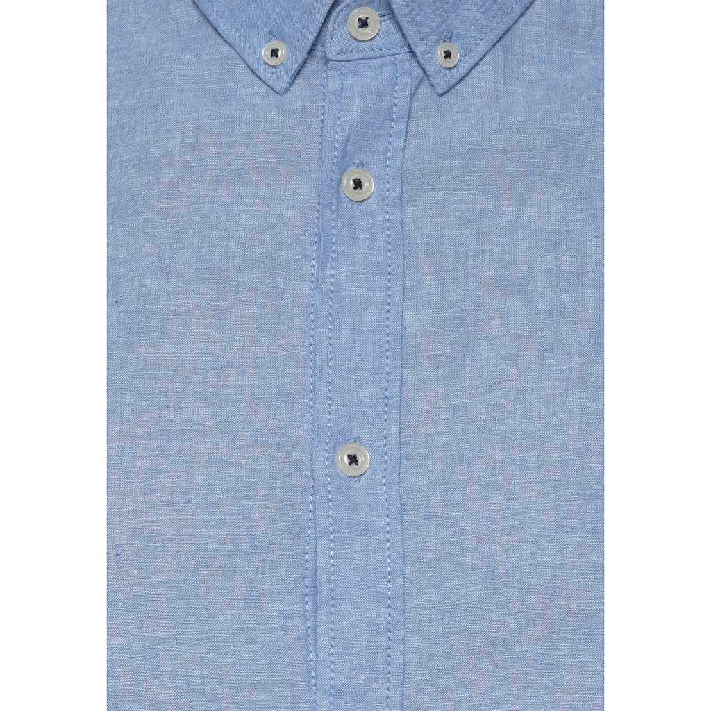 TOM TAILOR Langarmhemd, für den Sommer