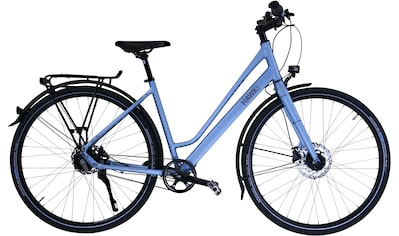 HAWK Bikes Trekkingrad »HAWK Trekking Lady Super Deluxe Skye blue«, 8 Gang Shimano Nexus Schaltwerk kaufen