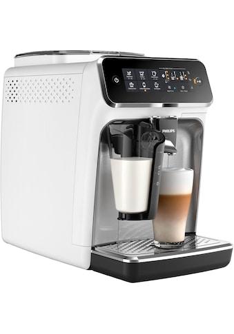 Philips Kaffeevollautomat 3200 Serie EP3243/70 LatteGo, weiß, 1,8l Tank, Scheibenmahlwerk kaufen