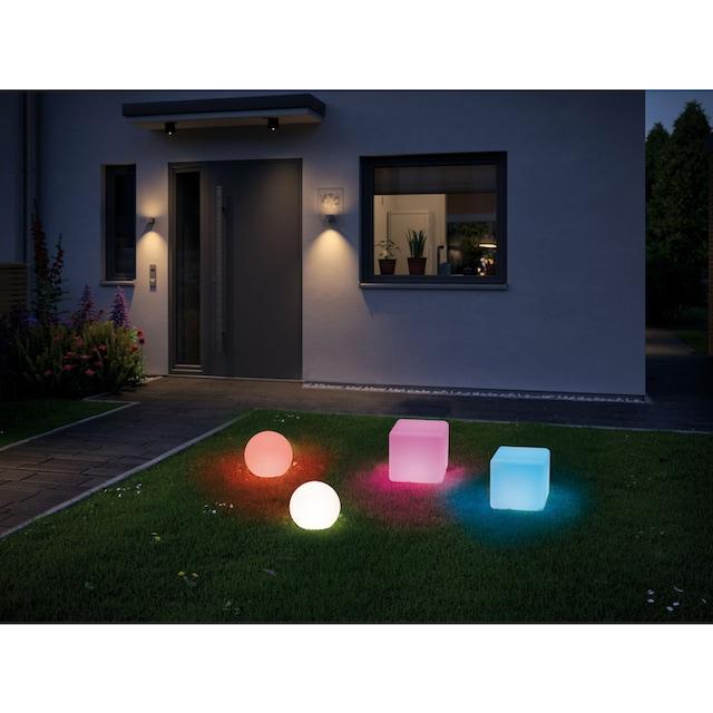 Paulmann,LED Würfel»Outdoor Plug & Shine Lichtobjekt Cube«,
