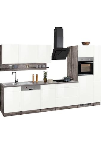 HELD MÖBEL Küchenzeile »Virginia«, ohne E-Geräte, Breite 330 cm kaufen