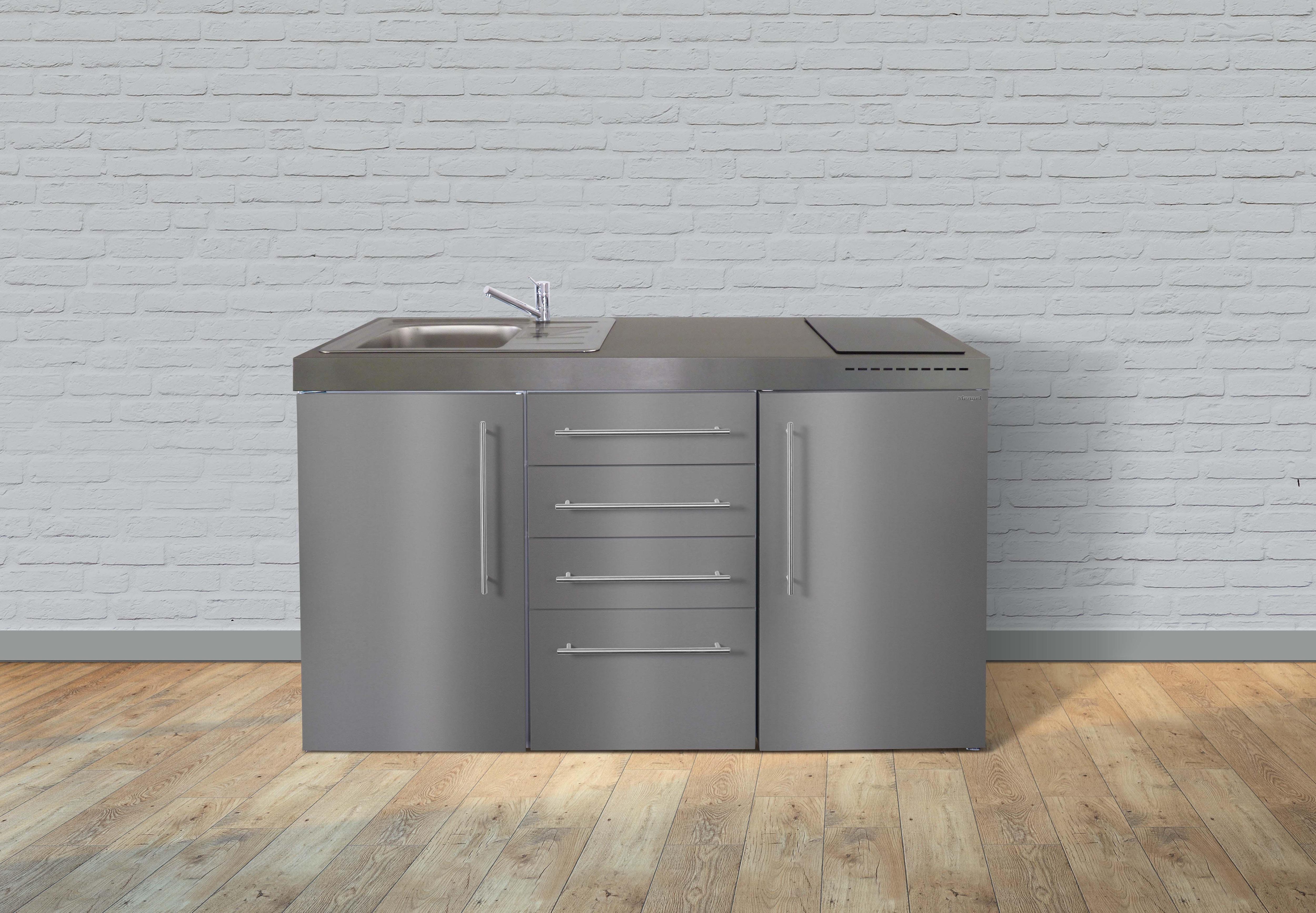 silberfarben-metall Miniküchen online kaufen | Möbel ...