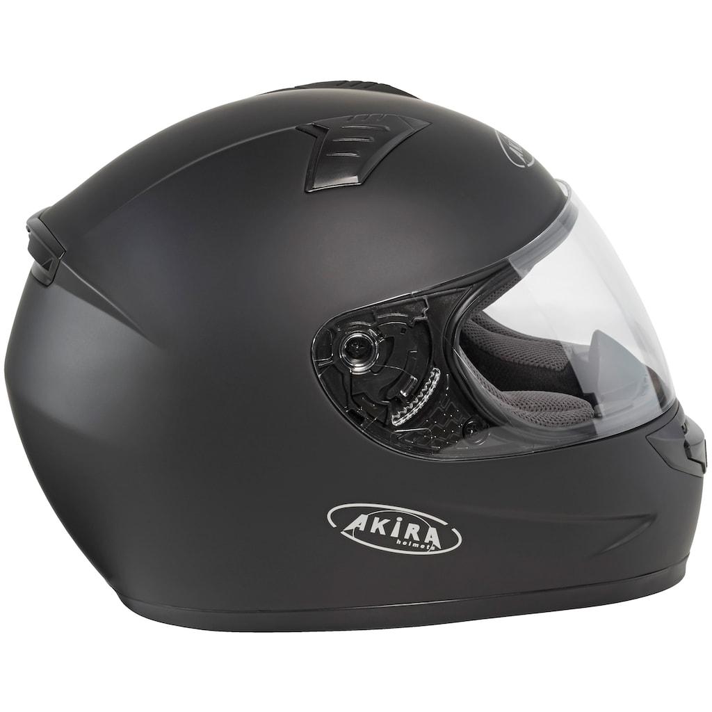 AKIRA Motorradhelm »Akira Integralhelm RO 10«