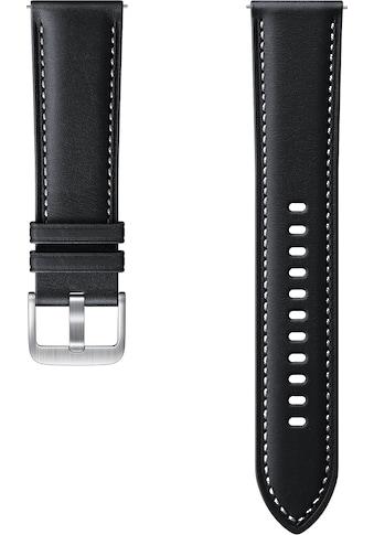 Samsung Uhrenarmband »Stitch Leather Band ET - SLR84 22 mm« kaufen